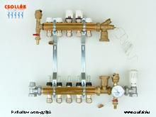 BS 520 TS Padlófűtés osztó-gyüjtő