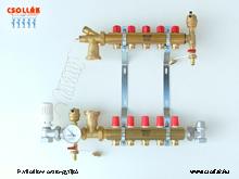 BS 600 TSD Padlófűtés osztó-gyüjtő