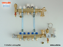 BS 600 TS Padlófűtés osztó-gyüjtő